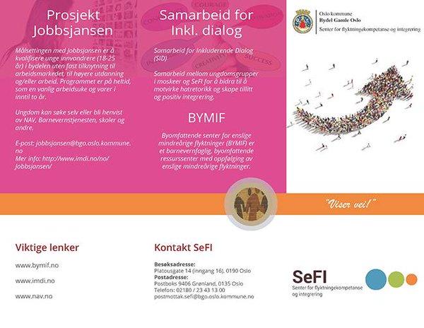 SeFI brosjyre (forside)