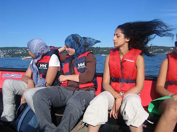 Gratis båtturer i sommer på onsdager