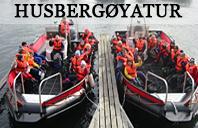 Tur til Husbergøya med Riverside ungdomshus