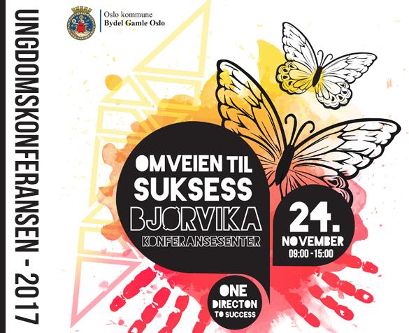 Ungdomskonferansen 2017 - Omveien til suksess