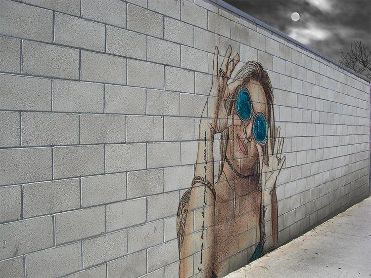 Ukens bildekollasj fra web&grafisk deisgn på riverside ungdomshus