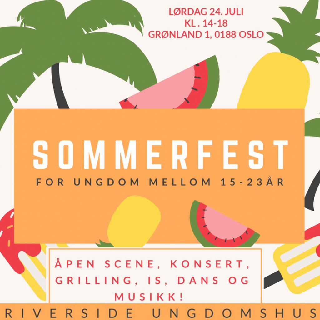 Sommerfest 24. juli kl. 14-18